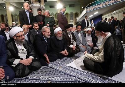 الامام الخامنئي يستقبل كبار المسؤولين الإيرانيين