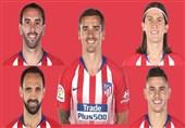 فوتبال جهان| اتلتیکومادرید در فصل کوچ دسته جمعی ستارهها؛ از گودین تا گریزمان