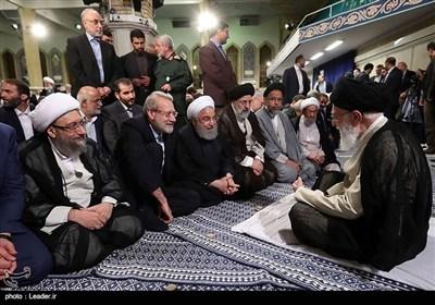 انقلاب اسلامی کے حکام کی امام خامنہ ای سے ملاقات