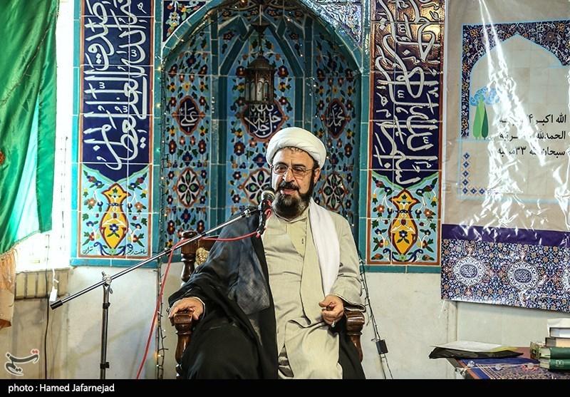 سخنرانی حجت الاسلام و المسلمین علی بهجت در جمع دانش آموزان مدرسه ثامن