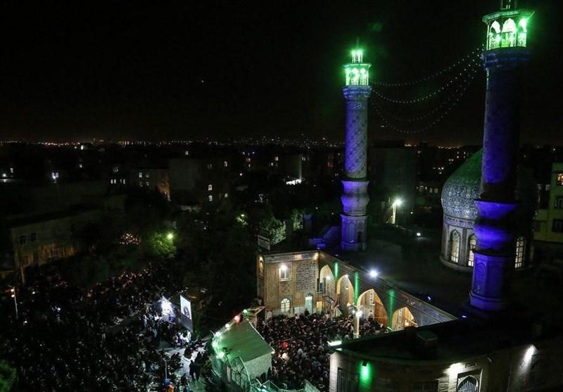 برگزاری مراسم مناجات خوانی در دهه دوم ماه مبارک رمضان