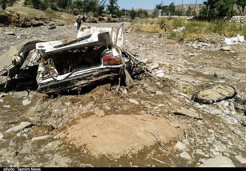 خانههایی که در شرق استان گیلان خواب سیلاب میبینند + فیلم