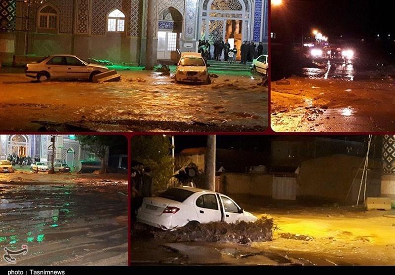 در سیلاب مشهداردهال چه گذشت / وقتی به هشدارهای هواشناسی بیتوجهی میشود+تصاویر