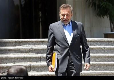 محمود واعظی رئیس دفتر رئیسجمهور در حاشیه جلسه هیئت دولت