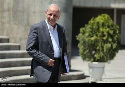 جمشید انصاری رئیس سازمان اداری و استخدامی کشور در حاشیه جلسه هیئت دولت