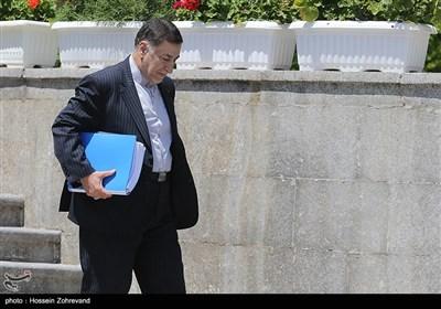 سیدعلیرضا آوایی وزیر دادگستری در حاشیه جلسه هیئت دولت
