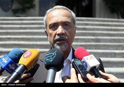 محمد نهاوندیان معاون اقتصادی رئیسجمهور در حاشیه جلسه هیئت دولت