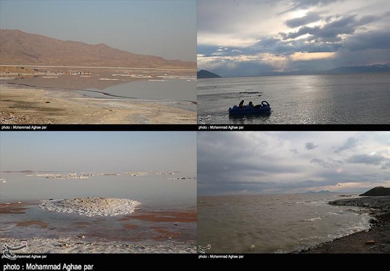 اختصاص 600 میلیارد تومان اعتبار جدید برای احیا دریاچه ارومیه + فیلم