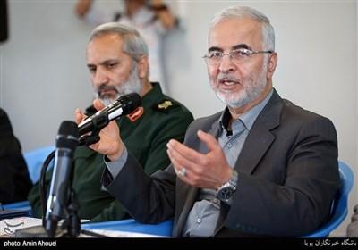 سخنرانی سردار مومنی در حاشیه بازدید از اردوگاه شهید زیادیان