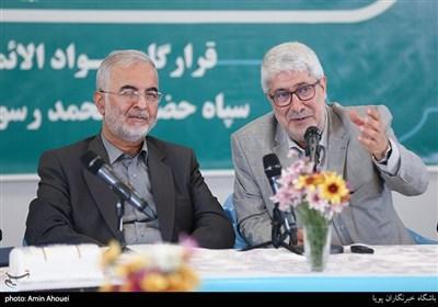سخنرانی سعید عمرانی معاون قضائی دادستان کل کشور در حاشیه بازدید از اردوگاه شهید زیادیان