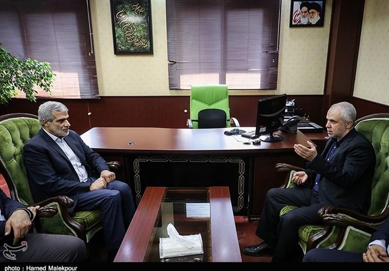 بازدید رئیس سازمان فرهنگی هنری شهرداری تهران از خبرگزاری تسنیم