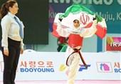 تکواندو قهرمانی جهان|کار بزرگ مهلا مومنزاده با صعود به دیدار نهایی/ دختر 17 ساله تکواندو ایران در مسیر کیمیا علیزاده