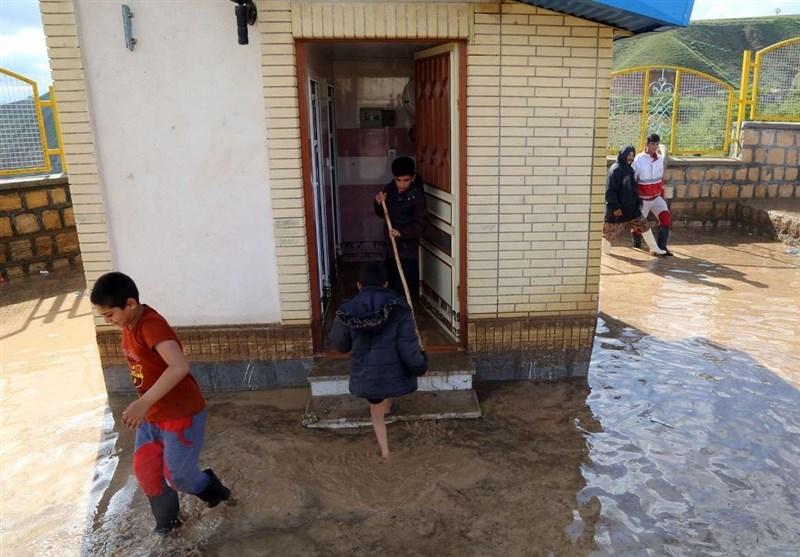 آبگرفتگی 100 خانه در مانه و سملقان؛ حضور به موقع نیروهای نظامی و خدماتی بخشی از آلام مردم را کاهش داد