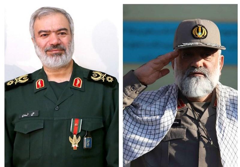 گزارش| با سوابق جانشین و معاون هماهنگ کننده جدید سپاه آشنا شوید