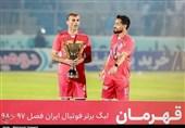 رکورد ویژه سیدجلال حسینی در لیگ برتر