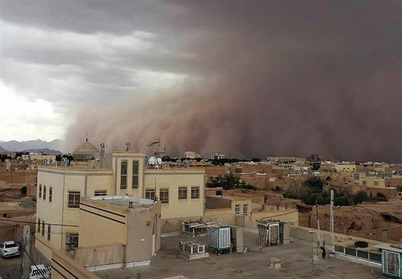 هواشناسی ایران ۱۴۰۰/۰۶/۰۳| هشدار طوفان شن و گرمازدگی در ۷ استان