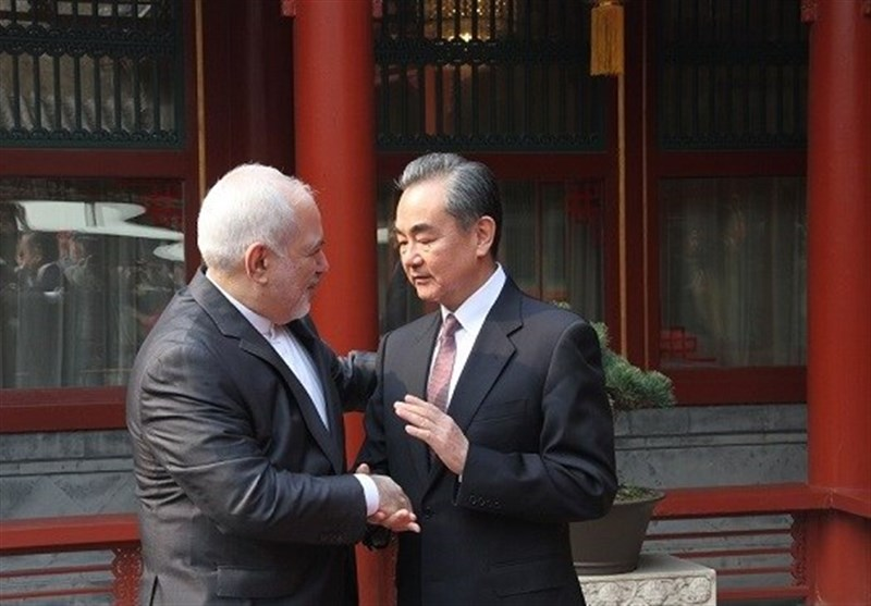 Iranian, Chinese Foreign Ministers Meet in Beijing