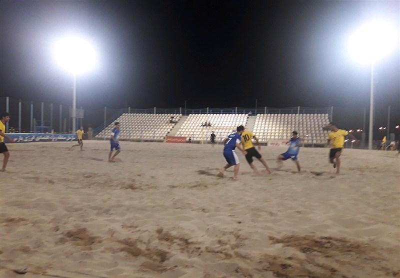 پیروزی پرگل تیم پارس جنوبی بوشهر در لیگ برتر فوتبال ساحلی