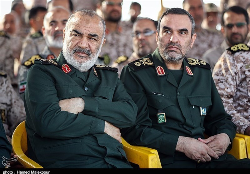 اطلاعات سپاه و ادعای خلع سلاح آمریکا