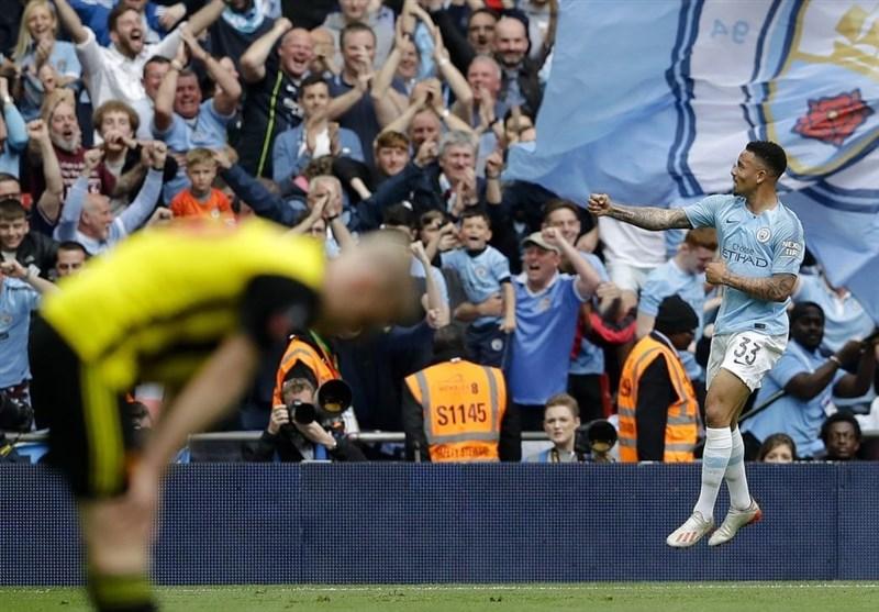 فوتبال جهان|منچسترسیتی با 6 گل برای ششمین بار فاتح جام حذفی انگلیس شد/ مردان گواردیولا اولین قهرمان سهگانه داخلی تاریخ فوتبال جزیره نام گرفتند