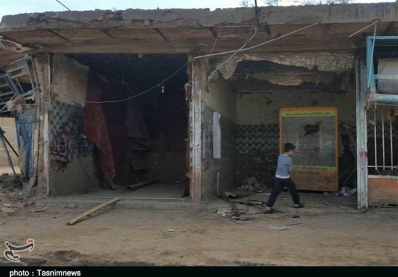 بازار پلدختر 47 روز پس از سیل همچنان تعطیل؛ قلب تپنده شهر ویرانه است+ تصاویر