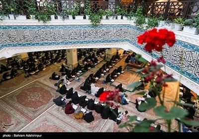 مراسم جزءخوانی قرآن کریم در اردبیل