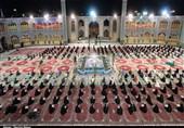 محفل جزءخوانی قرآن کریم در حرم هلال ابن علی (ع) برگزار شد