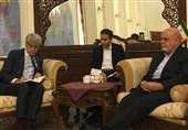 دیدار سفیران ایران و فرانسه در بغداد