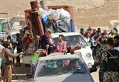 Moe than 1,000 Displaced Syrians Return Home