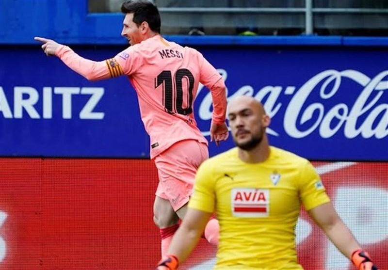 فوتبال جهان  پایان فصل 2019-2018 لالیگا با تساوی خارج از خانه بارسلونا