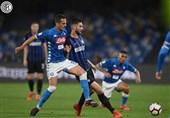 فوتبال جهان|ناپولی، صعود اینتر به لیگ قهرمانان را سخت کرد/ یوونتوس، میلان را در کورس کسب سهمیه نگه داشت