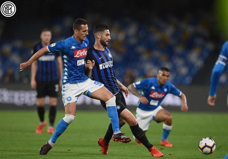 فوتبال جهان ناپولی با برتری قاطعانه کار صعود اینتر به لیگ قهرمانان را سخت کرد/ یوونتوس، میلان را در کورس کسب سهمیه نگه داشت