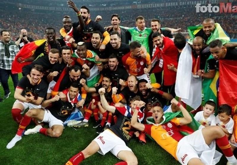 فوتبال جهان گالاتاسرای قهرمان سوپر لیگ ترکیه شد