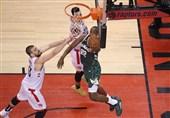 پلیآف لیگ NBA  رپتورز از سد باکس گذشت + عکس