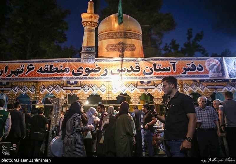 گزارشی از یک سفره افطاری ساده؛ پیچیده شدن بوی عطر امام رضا(ع) در محلههای پایتخت+تصاویر