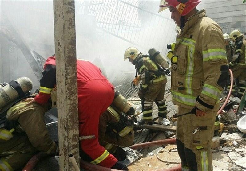 تعداد کشتههای انفجار تعمیرگاه در غرب تهران به 3 نفر رسید