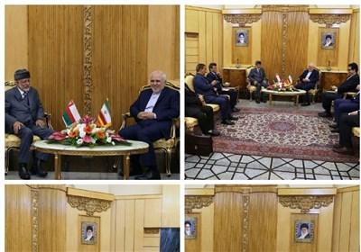 وزیر الخارجیة الإیرانی یستقبل نظیره العمانی