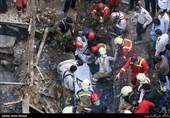 فیلم/ خارج کردن 3 جسد از میان آوار تعمیرگاه خودرو