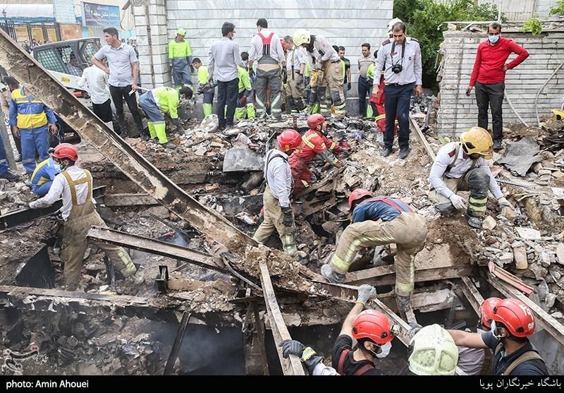 انفجار تعمیرگاه در غرب تهران با 3 کشته