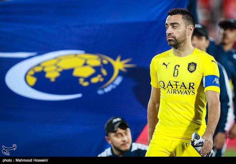 بازی خداحافظی ژاوی هرناندز اسطوره اسپانیایی تیم السد از دنیای فوتبال، مقابل تیم فوتبال پرسپولیس ایران