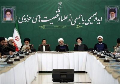 روحانی: مذاکره در شرایط کنونی را به هیچ عنوان قبول ندارم