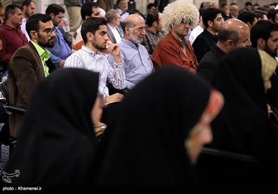 Iranian Poets Meet with Ayatollah Khamenei