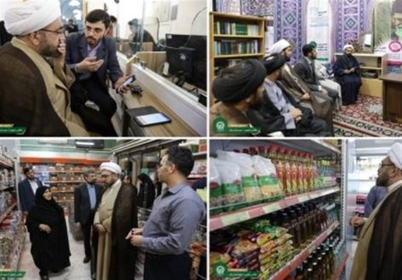 حجتالاسلام مروی «سرزده» از بخشهای مختلف آستان قدس رضوی بازدید کرد