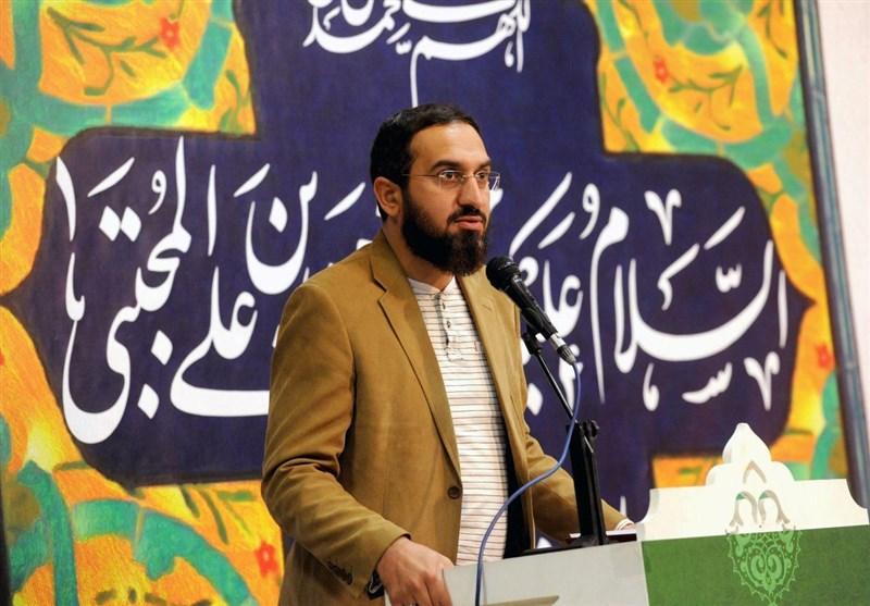 شعرخوانی هادی جانفدا در مدح امام حسن (ع)+ فیلم