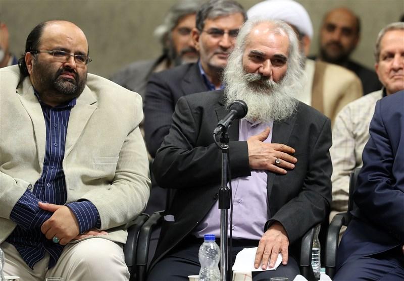 شعرخوانی یوسفعلی میرشکاک در محضر رهبر انقلاب