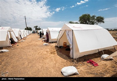 اسکان اضطراری زلزلهزدگان در کوهرنگ به 160 خانوار رسید