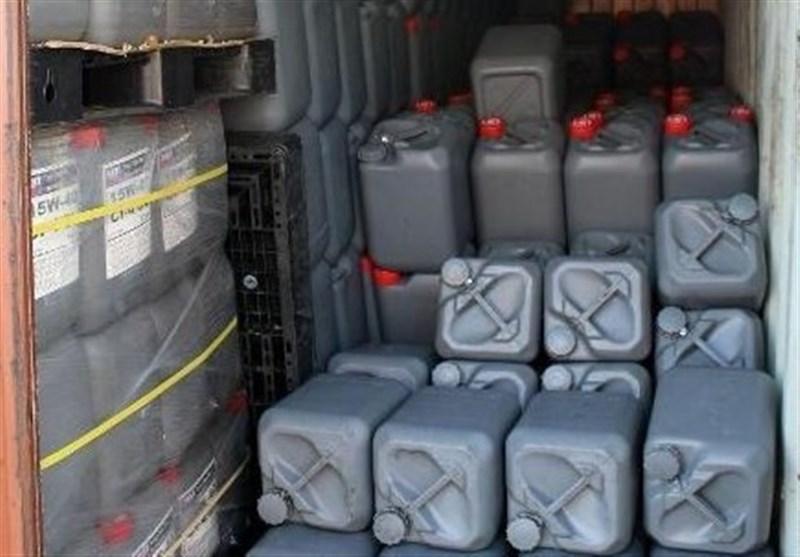 8000 لیتر مواد شیمیایی پیش ساز تولید مواد مخدر صنعتی در استان بوشهر کشف شد