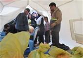 بیش از 100 سبد حمایتی بین خانوادههای مناطق سیلزده خرمآباد توزیع شد