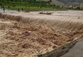 بارشهای رگباری سبب وقوع سیل در مهدیشهر شد
