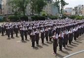 یک برنامه شاد در مدارس/حافظ خوانی 400 دانشآموز دبستانی